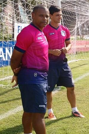 Técnico Wagner Nascimento aprova empate diante do Estrela (Foto: João Brito/Espírito Santo FC)