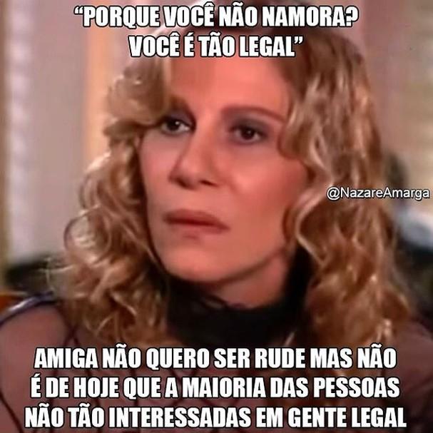 Nazaré amarga (Foto: Divulgação / Tv Globo )
