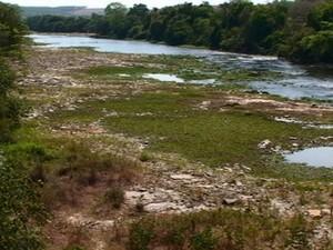 Rio Pará em Pompéu (Foto: Carlos França/Nossas Gerais)
