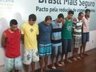 Polícia apresenta suspeitos de explodir caixas eletrônicos em Sergipe