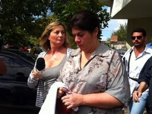 Carla Ubarana está presa desde o dia 26 de março (Foto: Fernanda Zauli/G1)