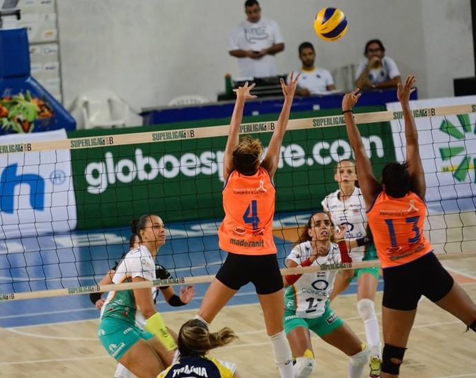 No Panela de Pressão, Vôlei Bauru vence o Paulínea pela Superliga B feminina (Foto: Divulgação / Marina Beppu)
