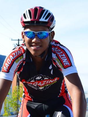 Ciclista Breno Morais (Foto: Felipe Martins / globoesporte.com)