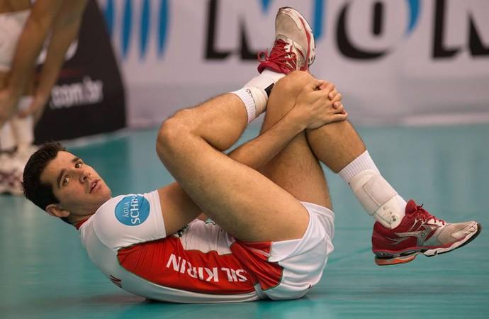 Sandro levantador Campinas vôlei (Foto: Divulgação / Brasil Kirin)