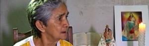 Devotos de Nossa Senhora de Nazaré creem na cura pela fé (Reprodução/TV Liberal)