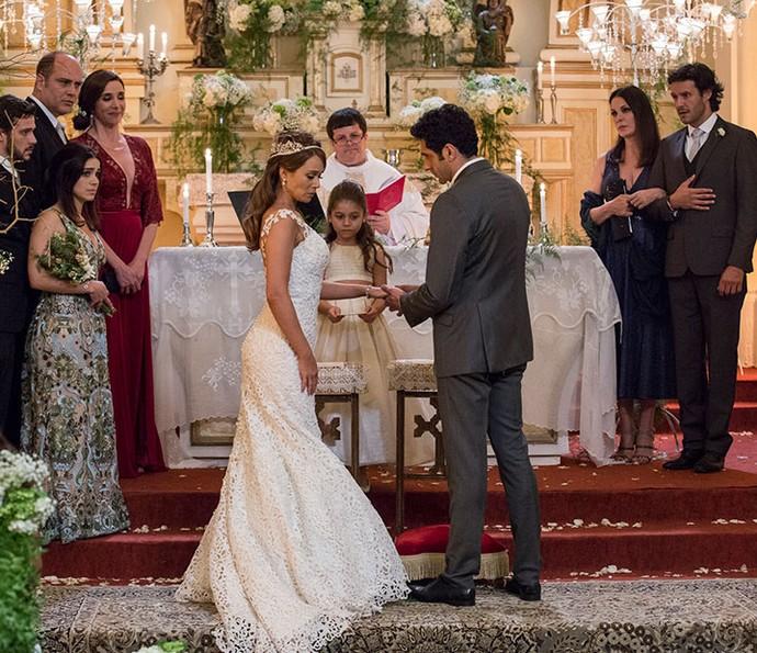Tancinha e Beto se casam (Foto: Ellen Soares/Gshow)