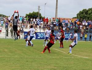 Parnahyba x Flamengo-PI - Semifinal Campeonato Piauiense (Foto: Josiel Martins)