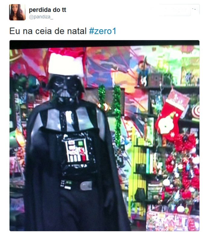 Internauta comenta o 'Zero1' nas redes (Foto: TV Globo)