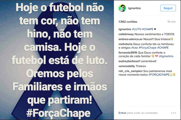 Thiago Martins posta no Instagram (Foto: Reprodução/Instagram)
