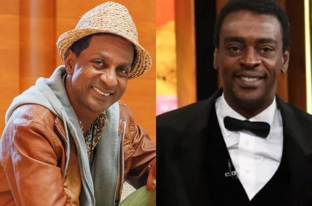 Luis Miranda e Seu Jorge (Foto: Artur Meninea/TV Globo e Carol Caminha/Gshow)