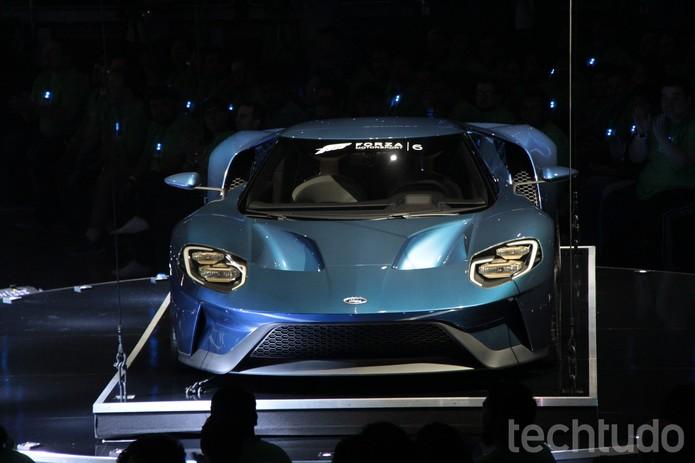 Forza na E3 (Foto: Tais Carvalho/TechTudo)