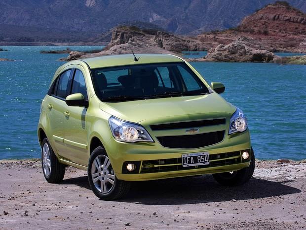 Chevrolet Agile 2013 (Foto: Divulgação)