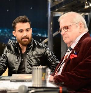 Tony Ferraz lança livro sobre série de assassinatos (TV Globo/Programa do Jô)