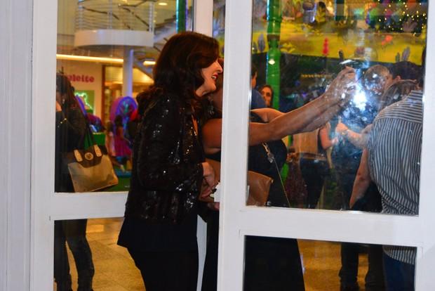 Fátima Bernardes (Foto: AgNews)