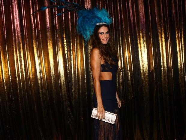 Ana Luiza Castro no Baile de Gala da Vogue (Foto: Iwi Onodera / EGO)