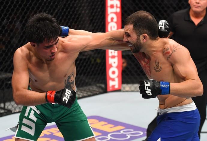 Erick Montaño Enrique Marín UFC Monterrey (Foto: Getty Images)