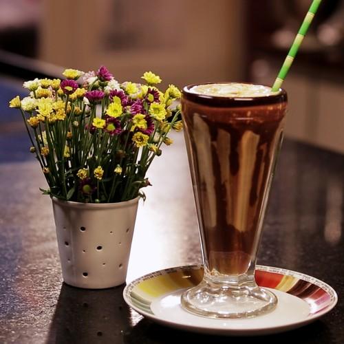 Milk Shake de Café e Chocolate