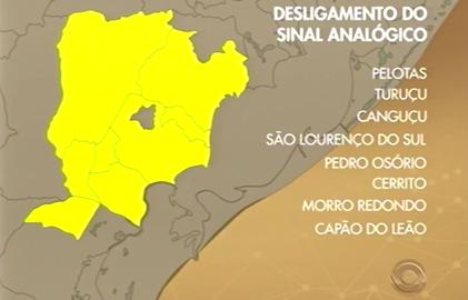 Faltam oito meses para o sinal analógico ser desligado em Pelotas