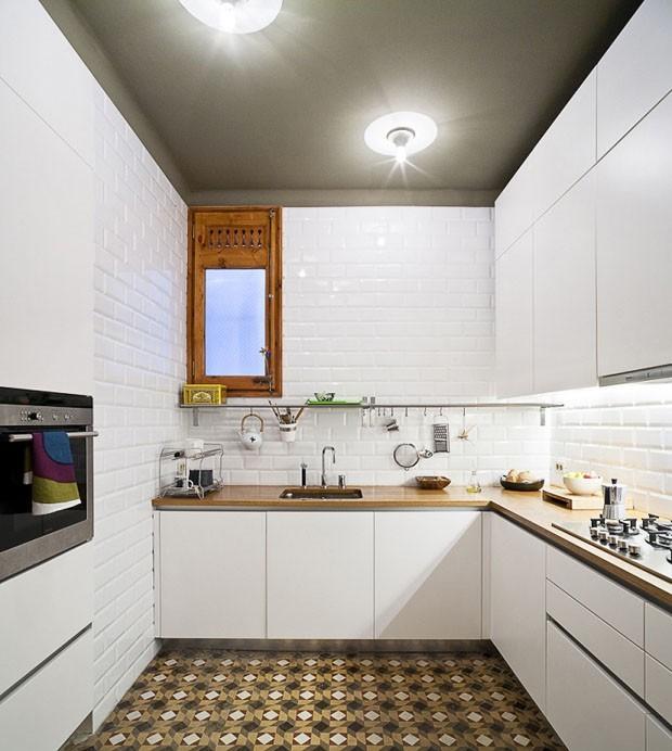11 cozinhas com o charme do ladrilho hidr ulico casa - Pintura para baldosas de cocina ...