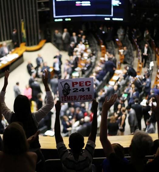 AGORA VAI PRO SENADO (Adriano Machado/Reuters)
