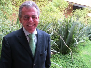Carlos Tilkian, presidente da Estrela (Foto: Darlan Alvarenga/G1)