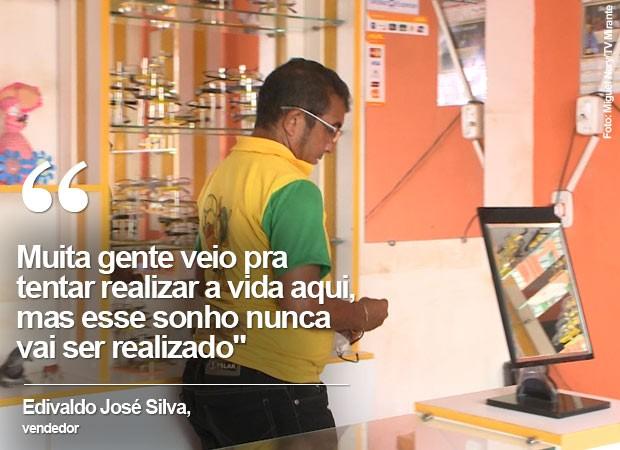 vendedor refinaria maranhão (Foto: Miguel Nery/TV Mirante)