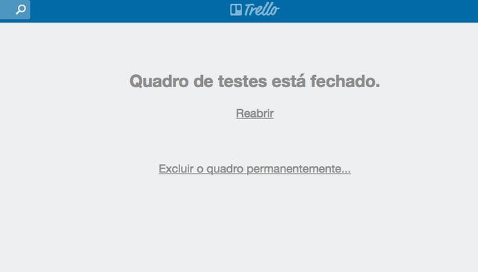 Como deletar boards no Trello (Foto: Reprodução/Felipe Vinha)