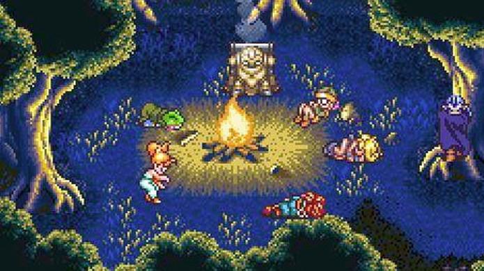 Chrono Trigger no Nintendo Wii traz o clássico original sem extras (Foto: Reprodução/The Adventure Gamer)