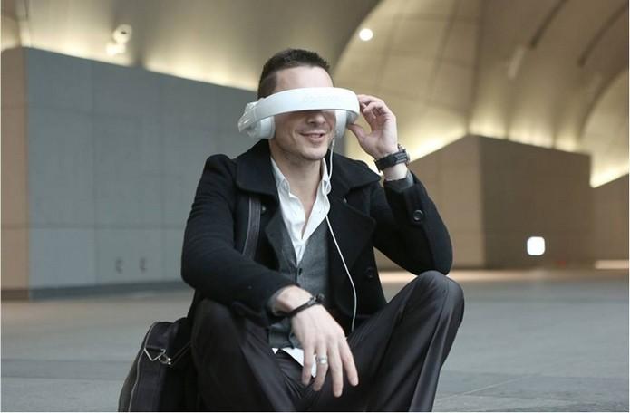 Headphone permite ter experiência imersiva de áudio e vídeo (Foto: Divulgação/Dashbon)