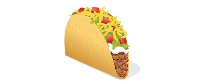 Petição da Taco Bell pede emoji de tacos (Foto: Reprodução/Change.org)