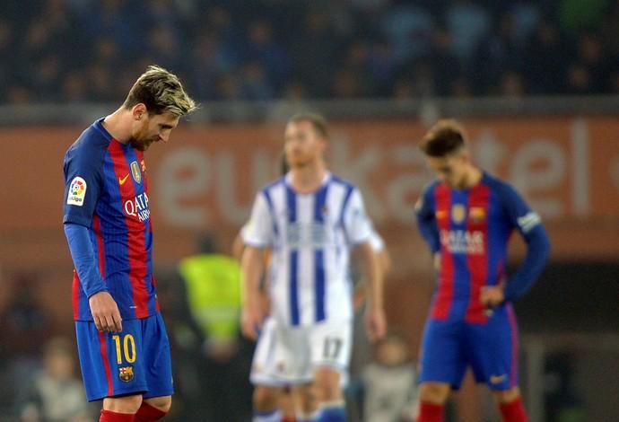 Messi Barcelona Real Sociedad (Foto: Reuters)