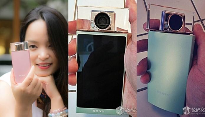 Fotos vazadas apontam para Cyber-Shot voltada para selfies (Foto: Reprodução/Digi-wo)
