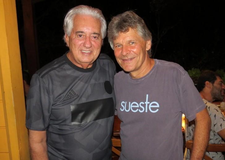 Francisco José e Patrick Muller