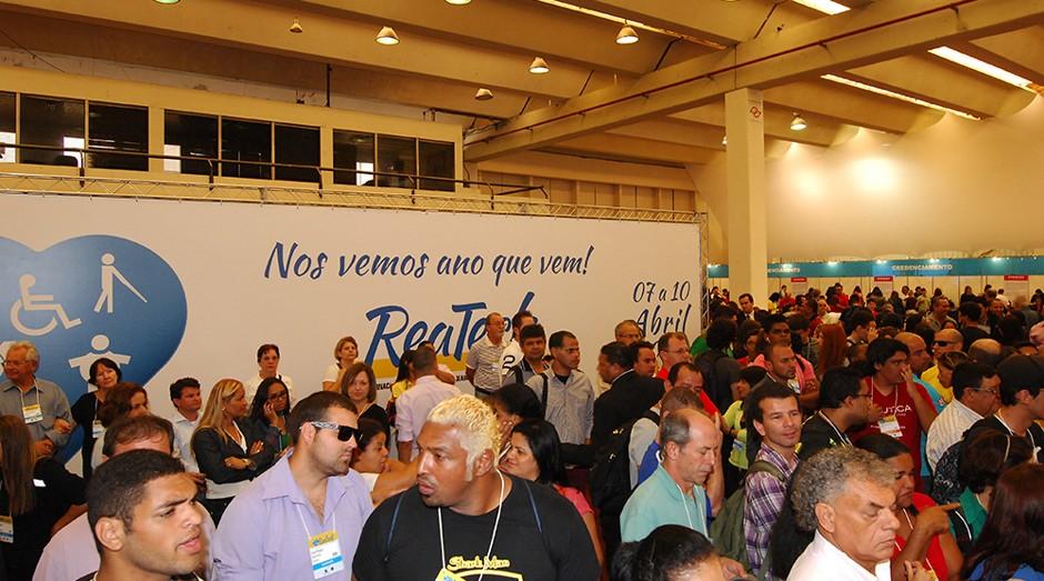 5ª Feira Internacional de Tecnologias em Reabilitação, Inclusão e Acessibilidade (Reatech), na São Paulo Expo (Foto: Divulgação)