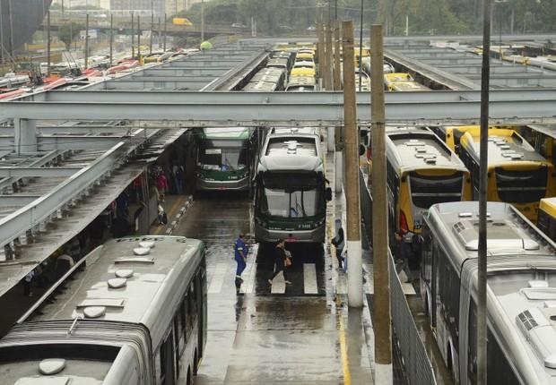 Ônibus em São Paulo ; transporte público ; (Foto: Rovena Rosa/Agência Brasil)