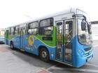 Homens armados fazem arrastão em ônibus do Transcol em Cariacica, ES