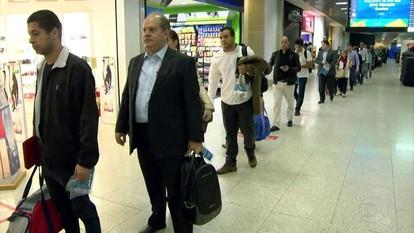 Após filas no embarque, check-in começa mais cedo no Aeroporto Santos Dumont