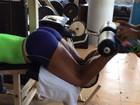 Após desfile de carnaval, Gracy Barbosa volta a rotina de treinos