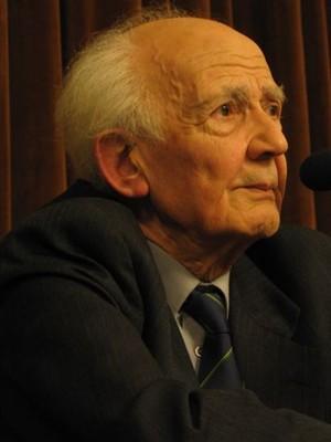 Zygmunt Bauman, em fevereiro de 2005, na Varsóvia (Foto: Wikipédia)
