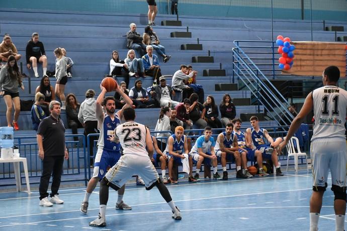 Basquete Inspira SC - Campeonato Catarinense de Basquete (Foto: Adriano Krischke, Federação Catarinense de Basketball)