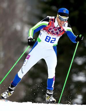 Leandro Ribela esqui cross-country Sochi (Foto: Getty Images)