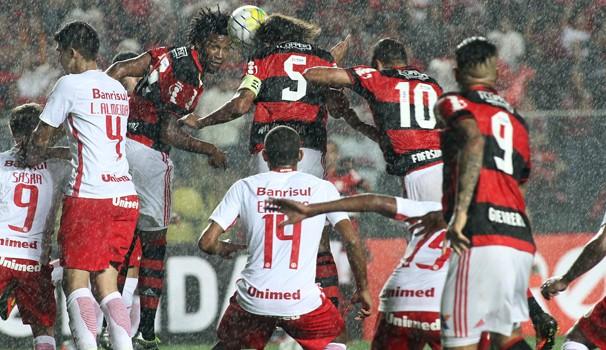 Flamengo x Internacional (Foto: Divulgação)