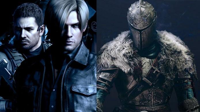 Dark Souls e Resident Evil em promoção nos consoles e PC (Foto: Reprodução/Felipe Vinha)