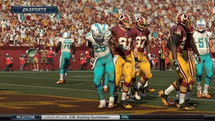 Madden NFL 16 oferece uma experiência mais realista aos fãs de futebol americano (Foto: Reprodução/TechTudo)