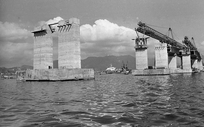 Construção da ponte teve polêmicas (Foto: Antonio Nery/Ag. O Globo)