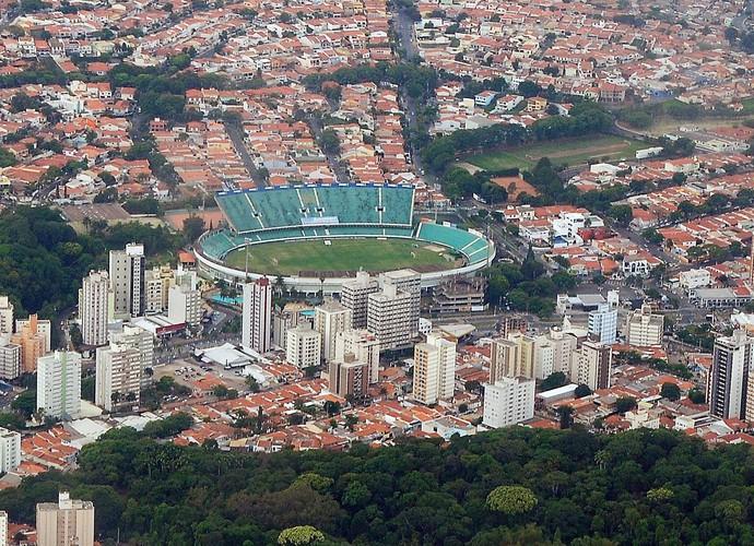 Estádio Brinco de Ouro, em Campinas (Foto: Rodrigo Villalba / Memory Press)