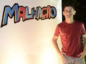 David Lucas vai prestar vestibular para Cinema (Foto: Malhação / Tv Globo)