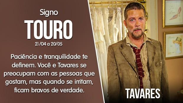 Touro - Tavares (Foto: Gshow)
