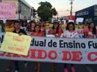 Ato público pela educação cobra melhoria das escolas em Santarém
