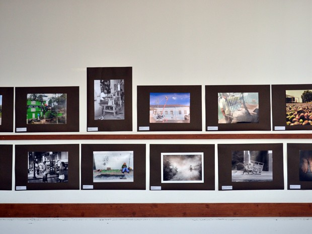 Exposição 'Direito humano ao trabalho', FDSM, FCPA, Pouso Alegre (Foto: Daniela Ayres/ G1)
